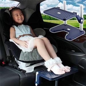 Car seat footrest
